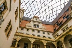 Der Altbau der Stadt Dresden, Deutschland Stockfotos