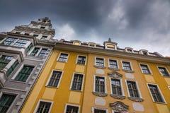 Der Altbau der Stadt Dresden, Deutschland Stockbild