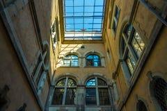 Der Altbau der Stadt Dresden, Deutschland Stockfotografie