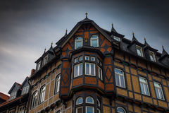 Der Altbau der Stadt Wernigerode, Deutschland Stockfotografie