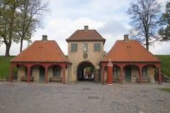 Der Altbau der Wachstube in der Festung Kastellet Kopenhagen, Dänemark Lizenzfreie Stockbilder