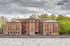 Der Altbau des Instituts des menschlichen Gehirns der russischen Akademie von Wissenschaften in St Petersburg Lizenzfreie Stockbilder