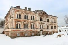 Der Altbau des Klosters Lizenzfreies Stockfoto
