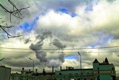 Der Altbau in Moskau Lizenzfreie Stockfotografie