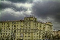Der Altbau in Moskau Lizenzfreie Stockbilder