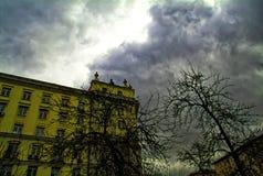 Der Altbau in Moskau Lizenzfreies Stockfoto