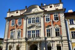 Der Altbau am Prag-Schloss, Prag, Tschechische Republik Stockbild