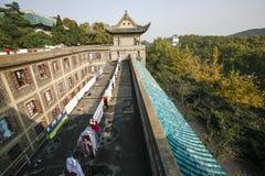 Der Altbau von Wuhan-Universität Lizenzfreie Stockfotos