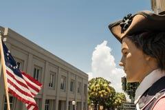Der alte Austausch und der Hochschulleiter Kerker-Charleston, South Carolina Lizenzfreie Stockfotos