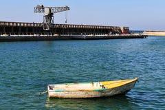 Der alte Aviv-Portbereich Lizenzfreies Stockfoto
