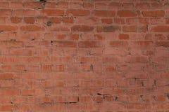 Der alte Backsteinmauerbeschaffenheitshintergrund Stockfotografie