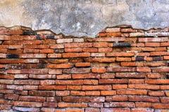 Der alte Backsteinmauerhintergrund Lizenzfreie Stockfotos