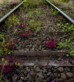 Der alte Bahnbereich Stockbild