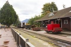 Der alte Bahnhof 2 Stockfotos