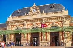 Der alte Bahnhof von Avignon Stockfoto