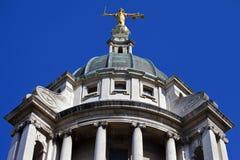 Der alte Bailey in London Lizenzfreies Stockfoto