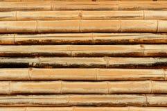 Der alte Bambushintergrund. Lizenzfreies Stockfoto