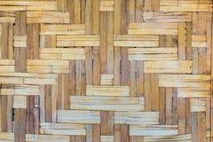 Der alte Bambushintergrund mit Retrostil und Weinlese Lizenzfreies Stockbild