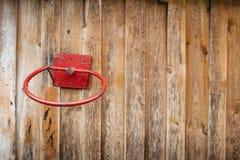 Der alte Basketballring Stockfotografie