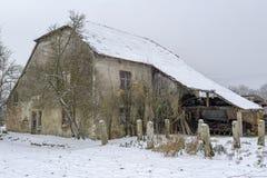 Der alte Bauernhof Lizenzfreie Stockfotos