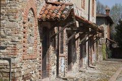 Der alte Bauernhof Stockfoto