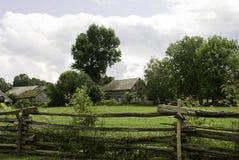 Der alte Bauernhof Lizenzfreies Stockfoto