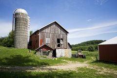Der alte Bauernhof Lizenzfreie Stockfotografie