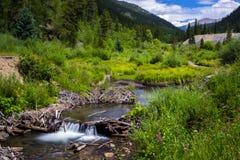 Der alte Bergbau-Fluss Lizenzfreie Stockbilder