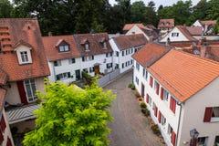 Der alte Bezirk des schlechten Homburg Lizenzfreie Stockfotografie