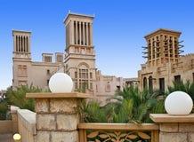 Der alte Bezirk von Dubai Lizenzfreies Stockbild