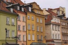 Der alte Bezirk von Warschau Lizenzfreie Stockfotos