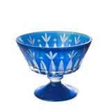 Der alte blaue Vase Stockfotografie
