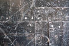 Der alte Boden der schwarzen Beschaffenheit als Hintergrund Stockfoto