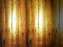 Der alte Bretterboden Stockfoto