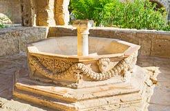Der alte Brunnen Stockbild