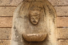 Der alte Brunnen Stockfoto