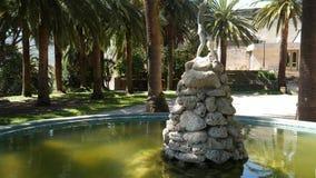 Der alte Brunnen Architektur von Kroatien und von Montenegro, Balkan stock footage