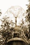 Der alte Brunnen im Park Stockfotografie