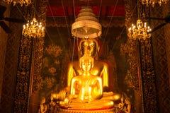 Der alte Buddha Stockbild