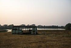 Der alte Bus Lizenzfreies Stockfoto