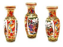 Der alte chinesische Vase. Stockbilder