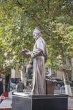 Der alte Doktor der traditionellen Statue der chinesischen Medizin Stockbilder