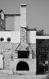 Der alte Dorfofen im Freien Lizenzfreie Stockbilder