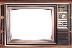 Der alte Fernsehapparat Lizenzfreie Stockfotos