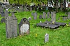 Der alte Friedhof Stockbilder
