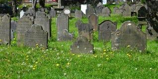 Der alte Friedhof Stockfotos