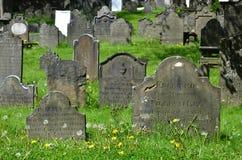 Der alte Friedhof Stockfotografie