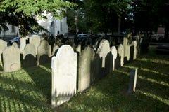 Der alte Friedhof - Halifax - Nova Scotia Lizenzfreies Stockfoto