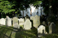 Der alte Friedhof - Halifax - Nova Scotia Stockfotos