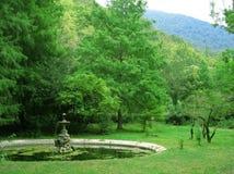 Der alte Garten Stockfotos